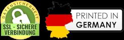 Alle Produkte werden in Deutschland bedruckt