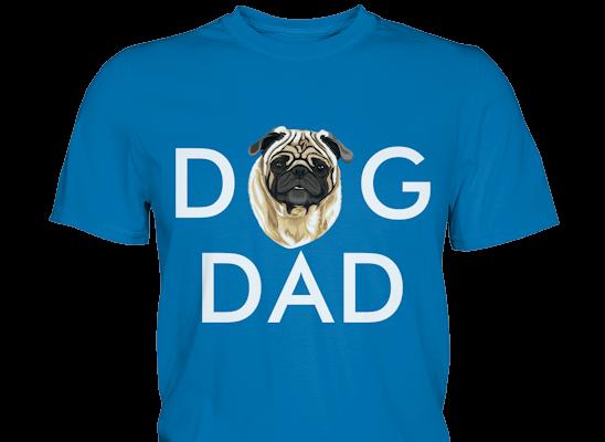 """""""Dog Dad"""" Design mit deinem Hund personalisiert"""