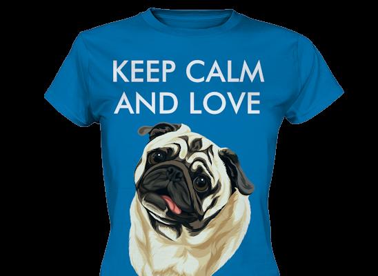 """""""Keep Calm"""" Design mit deinem Haustier personalisiert"""