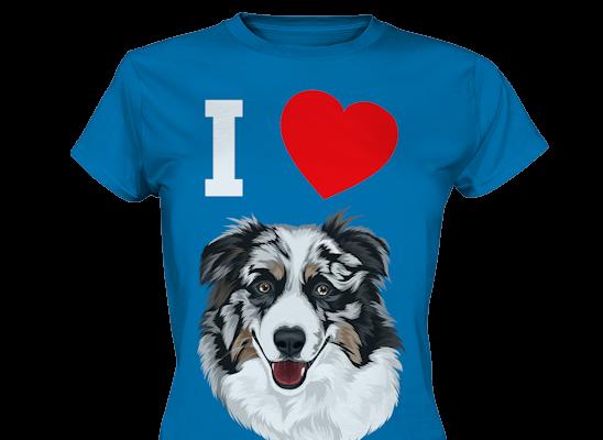 """""""I Love"""" Design mit deinem Haustier personalisiert"""