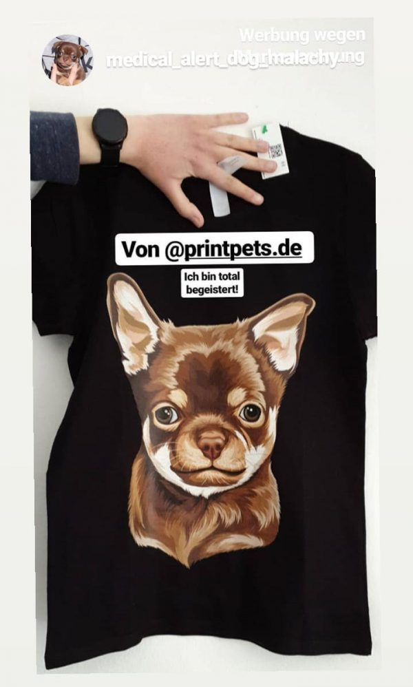 Kinder Organic T-Shirt personalisiert mit deinem Haustier