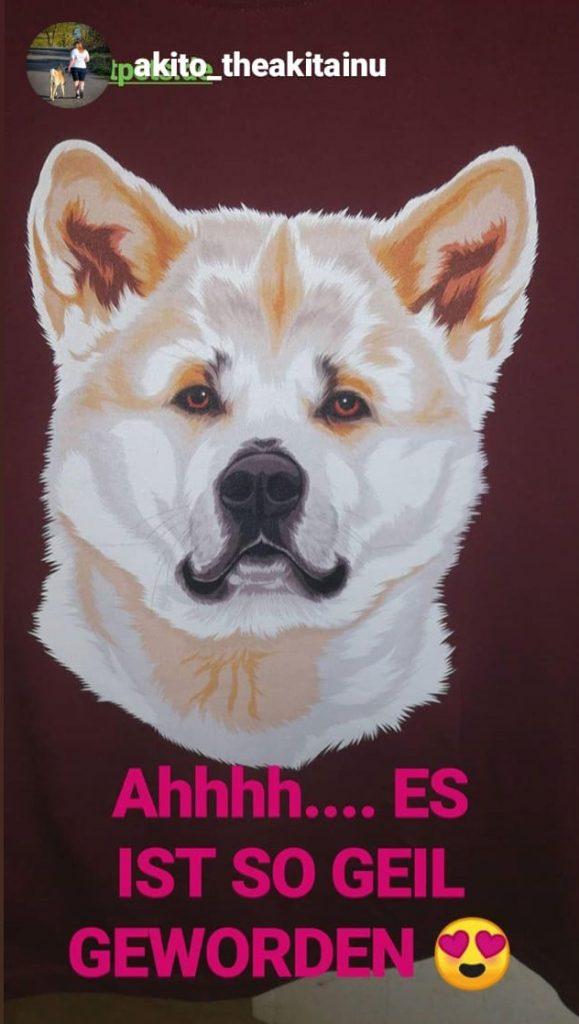 """""""Dog Lover"""" Design mit deinem Hund personalisiert"""