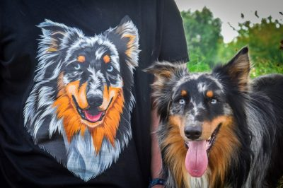 T-Shirt mit Gismo