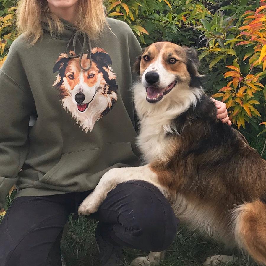 Pullover mit Jakki