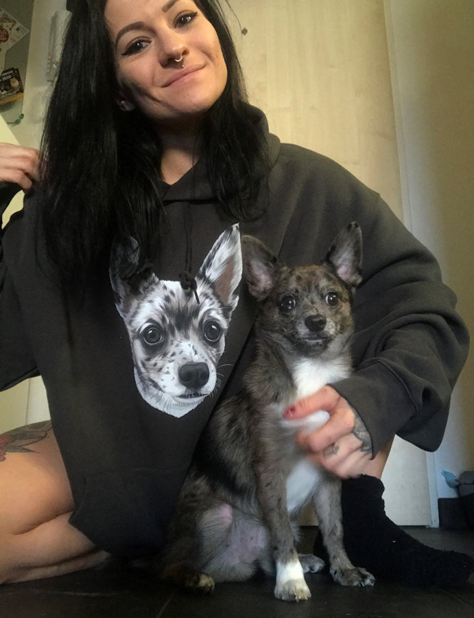 Pullover mit Zimti