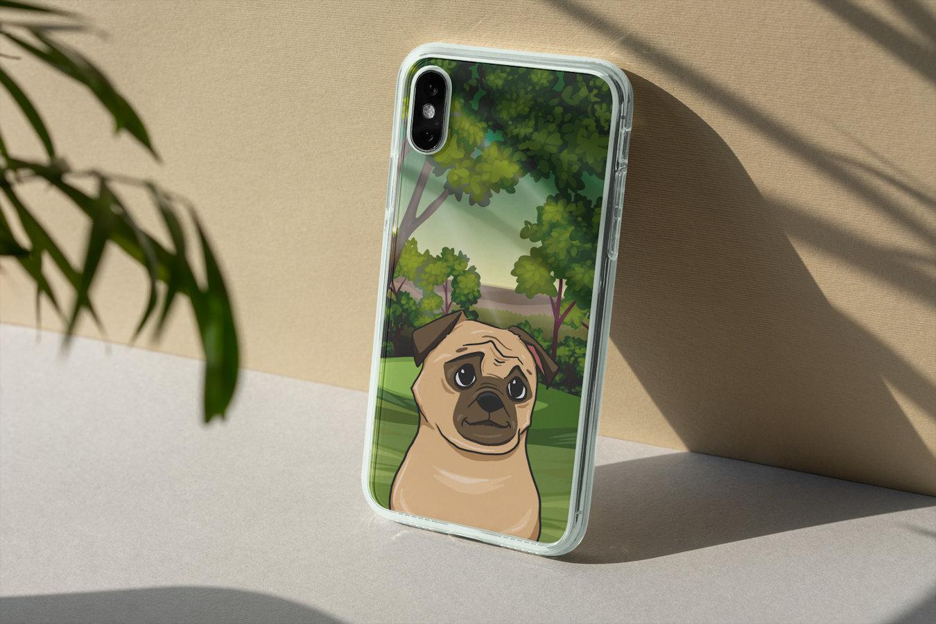 Personalisierte Smartphone Cashe mit deinem Haustier
