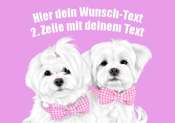 Mit Wunsch-Text