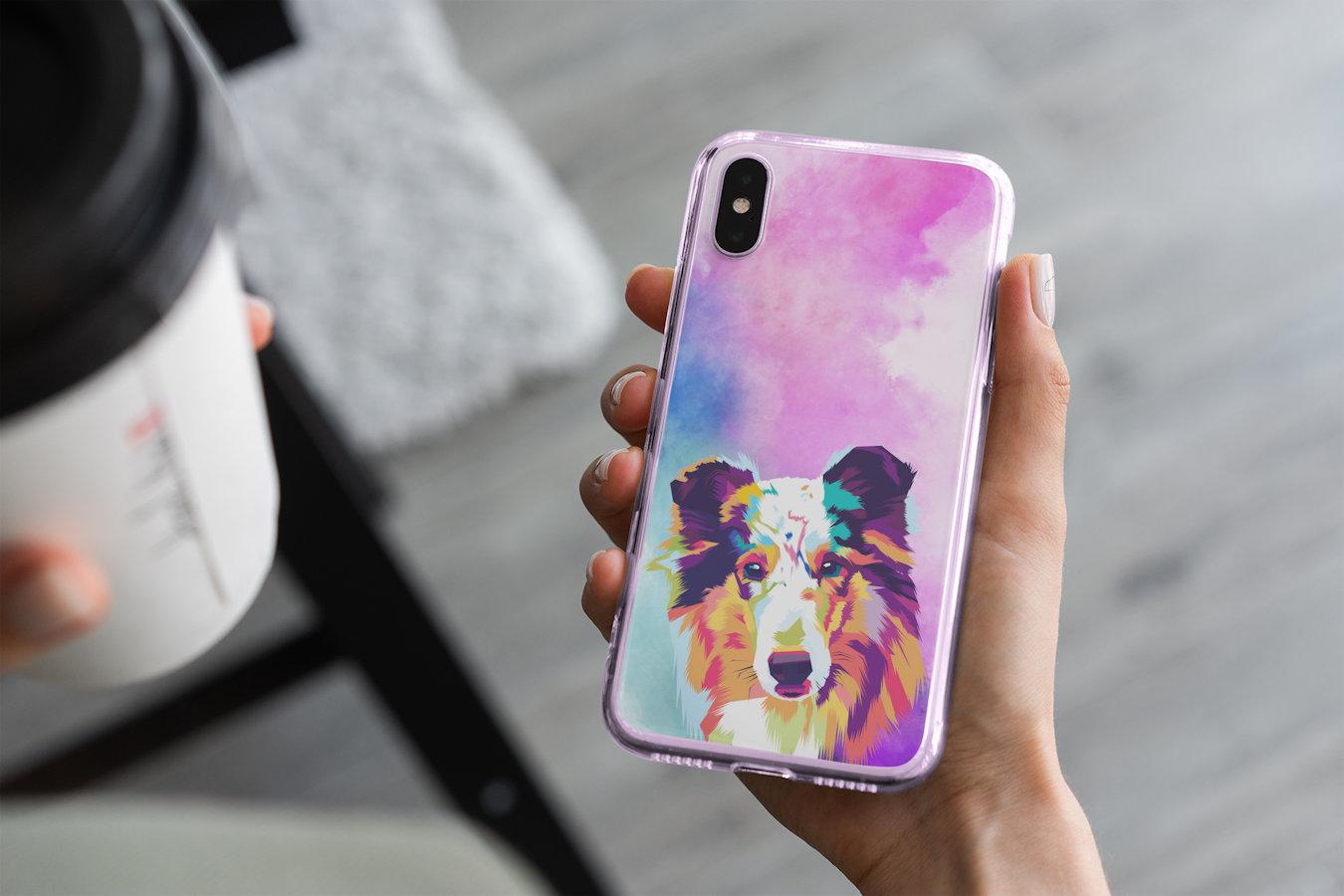 Handyhülle mit deinem Haustier designt