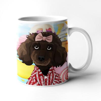 Cartoon cup